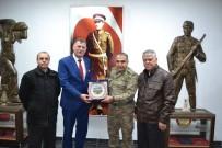 VEZIRHAN - Başkan Duymuş'tan Tuğgeneral Koç'a Ziyaret