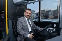 Başkan Külcü Örnek Halk Otobüsünü İnceledi
