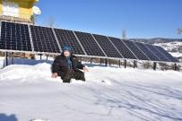 ENERJİ SANTRALİ - Kezban Teyze Köyüne Güneş Enerji Santrali Kurdu