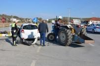 Milas'ta Ehliyetsiz Yaşlı Sürücü Kazaya Neden Oldu, 1 Yaralı