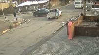 Otomobil İle Kamyonetin Çarpıştı Açıklaması 1 Yaralı