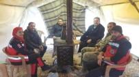 SÜLEYMAN ŞIMŞEK - Şimşek'ten Fırat Kalkanında Görev Yapan Askerler Ve Sağlık Çalışanlarına Moral Ziyareti
