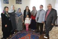 Vali Eşinden Şehit Ailelerine Ziyaret