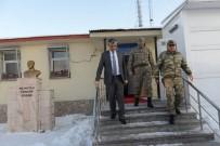 Vali Özefe, Jandarma Karakollarını Ziyaret Etti