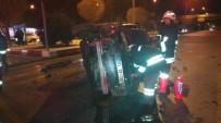 AFYON KOCATEPE ÜNIVERSITESI - Afyonkarahisar'da Trafik Kazası Açıklaması 2 Yaralı