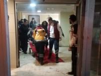 Başına Buz Kütlesi Düşen Suriyeli Çocuk Ağır Yaralandı