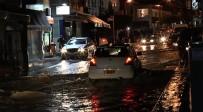GIRNE - Girne Yağışlara Teslim Oldu