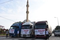 MUSTAFA ÇETIN - Hayrat Vakfı Suriye'ye 3 Tır Yardım Gönderdi
