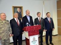 YENİ ANAYASA ÇALIŞMALARI - İçişleri Bakanı Soylu Açıklaması 'Bizim Dışımızda Burada Kimsenin Oyun Kurmasına Müsaade Etmeyeceğiz'