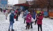 ALIBEYKÖY - Iğdır'da Eğitime Kar Engeli