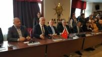 RECEP AKDAĞ - Ilıcalı Vekiller Adına İl Başkanı Öz'ü Yalnız Bırakmadı