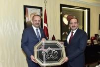 ALÜMİNYUM - Mamak Belediye Başkanı Akgül, Gölbaşı Belediye Başkanı Duruay'ı Ağırladı