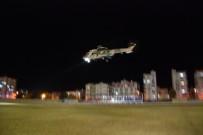 ÖZDEMİR ÇAKACAK - Mersin'de Kar'da Mahsur Kalan Hastalar Helikopterle Kurtarıldı