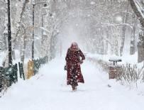 MERSIN - Meteorolojiden yoğun kar yağışı uyarısı
