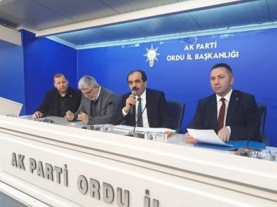 Ak Parti Trabzon Milletvekili Balta Ordu Da Belediye Meclis