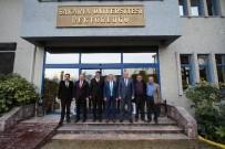 ÖMER KALAYLı - Akyazı Heyetinden Rektör Elmas'a Ziyaret