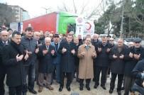 İSMAIL ÇIÇEK - Bafra'dan Halep'e 2 Tır Gıda Yardımı