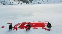 Buz Tutmuş Gölet Üzerinde Terörü Lanetlediler