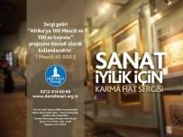 MAHMUT ŞAHIN - Deniz Feneri'nden 'Sanat İyilik İçin' Sergisi Açıldı
