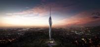 ANADOLU YAKASI - Dev TV Kulesi Havadan Görüntülendi