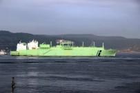KIYI EMNİYETİ - Doğalgaz Tankeri Boğazı Kapattı