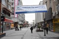 MEHMET KARATAŞ - Esnaftan Büyükşehir Belediyesi'ne Afişli Teşekkür