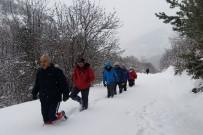 KARANLıKDERE - Gümüşhaneli Dağcılardan Sarıkamış Şehitleri İçin Zorlu Yürüyüş
