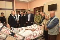 SEBAHATTIN YıLMAZ - Hatay Valisi Ata Yaralı Askerleri Ziyaret Etti