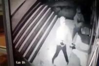 ERTUĞRUL GAZI - İş Yerine Saldırı Anı Güvenlik Kamerasında