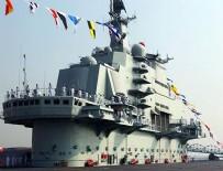 İLK UÇAK GEMİSİ - Japonya, Çin'in Pasifik'e ilerleyen ilk uçak gemisini gözlemleyecek