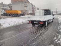 Kırklareli Belediyesi'nden Kar Önlemi