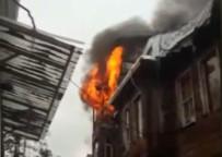İTFAİYE ERİ - Marmaray yakınında korkutan yangın!