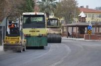 Milas'ta Asfalt Çalışmalarına Hız Verildi
