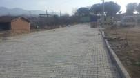 Turgutlu'daki Parke Taşı Çalışmaları Sürüyor