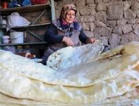 MEHMET ÖZCAN - Türkiye'nin kültürel mirası 'lavaş' kış sofralarında