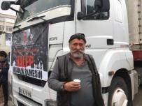 SUAT DERVIŞOĞLU - Ümraniye'den 11 Yardım Tırı Halep İçin Yola Çıktı