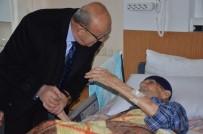 ALİ HAMZA PEHLİVAN - 105'Lik Hamid Dede Hasta Yatağında Cumhurbaşkanına Dua Ediyor