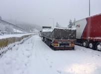 Adana - Pozantı Otoyolunda Kar Esareti Bitti