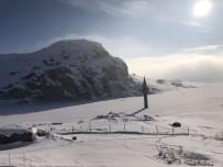 KAR MANZARALARI - Ağrı'da muhteşem kar manzaraları