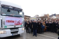 SELAHADDIN EYYUBI - AK Partili Kadınlardan Halep'e 2 Tır Yardım