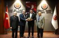 HÜSEYIN ÖZER - ATO Yönetimi Ekonomi Bakanı Zeybekci'yi Ziyaret Etti