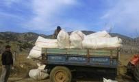 SERA ETKISI - Bahar Dönemi Patates Ekimi Ödemiş'te Erken Başladı
