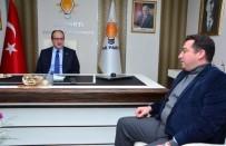 MUSTAFA DÜNDAR - Başkan Bakıcı'dan AK Parti Eskişehir İl Başkanlığına Ziyaret
