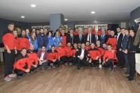 METİN ÖZKAN - Başkan Baran, Spor Akademi Eğitmenleriyle Buluştu