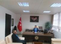 Başkan Tutal'dan Kaymakam Erdoğan'a Ziyaret