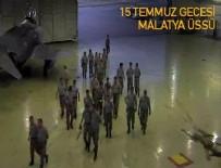 15 TEMMUZ DARBESİ - Darbe girişimi sırasında askeri üste yaşananlar kamerada