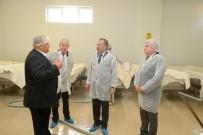 GÜNAY ÖZDEMIR - Edirne Valisi Özdemir, Süt Ürünleri Tesisini İnceledi