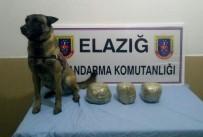 Elazığ'da Trende 6 Kilo Esrar Ele Geçirildi