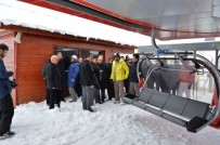 İLYAS ÇAPOĞLU - Ergan Dağı Kayak Merkezi Kayak Sezonunu Açıyor