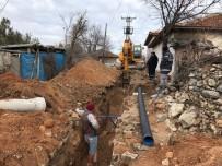 Eynez'in 50 Yıllık Kanalizasyon Hattı Yenileniyor